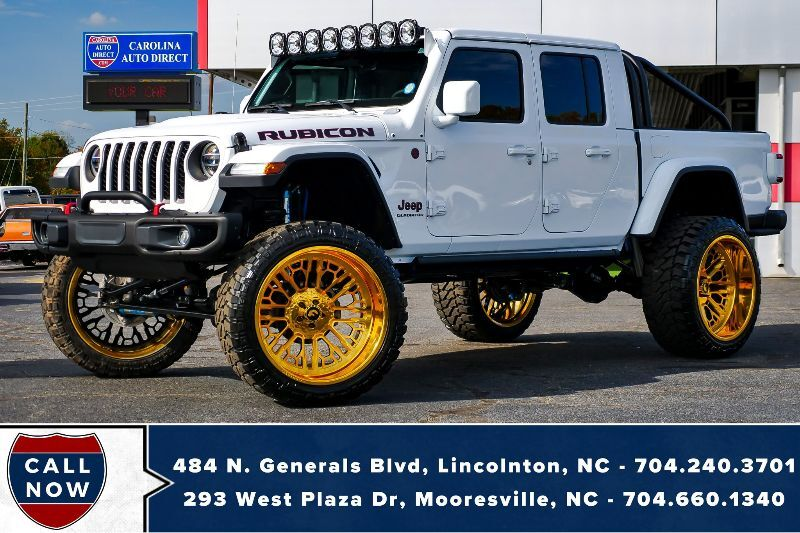 2020 Jeep Gladiator Rubicon 4X4 *LIFTED* w/ OVER $26,000 in MODS!!! Mooresville NC