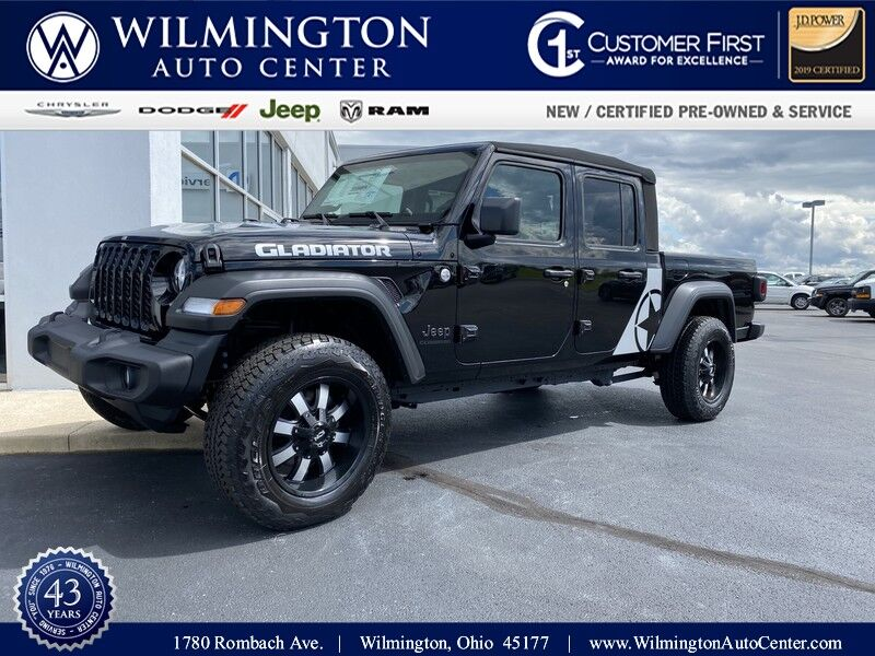 2020 Jeep Gladiator SPORT S 4X4 Wilmington OH
