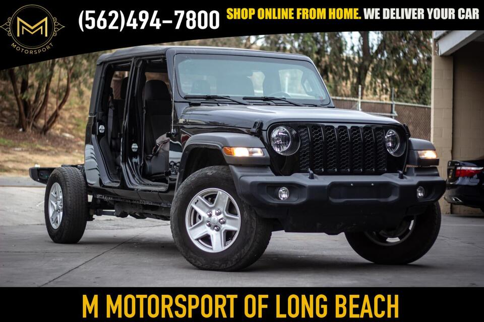 2020_Jeep_Gladiator_Sport Pickup 4D 5 ft_ Long Beach CA