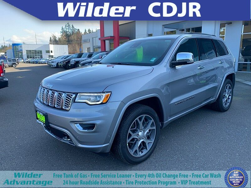 2020 Jeep Grand Cherokee 4d SUV 4WD Overland V8 Port Angeles WA