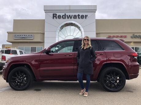 2020 Jeep Grand Cherokee Altitude Redwater AB