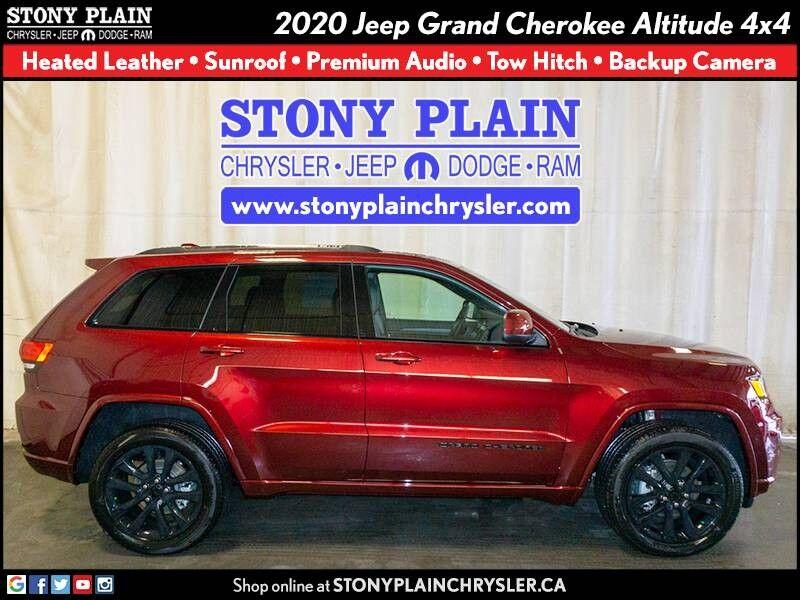 2020 Jeep Grand Cherokee Altitude Stony Plain AB