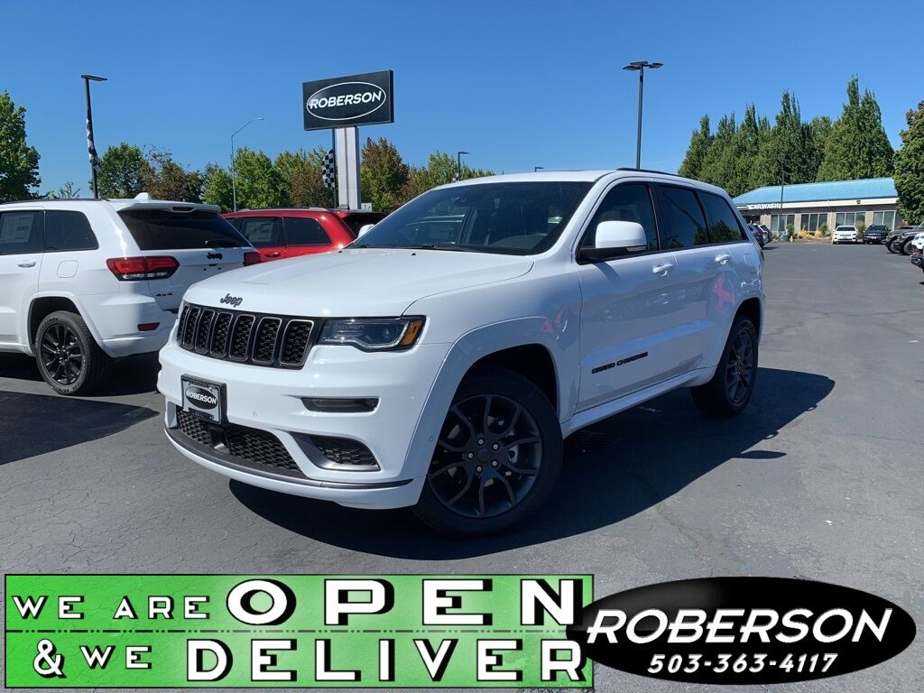 2020 Jeep Grand Cherokee HIGH ALTITUDE 4X4 Salem OR