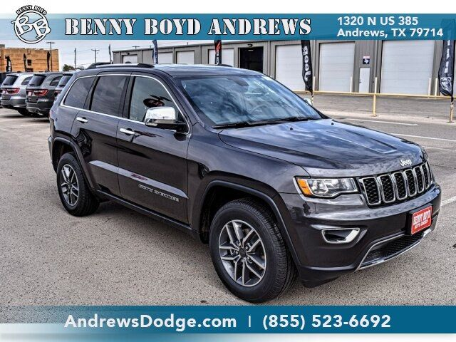 2020 Jeep Grand Cherokee LIMITED 4X2 Andrews TX