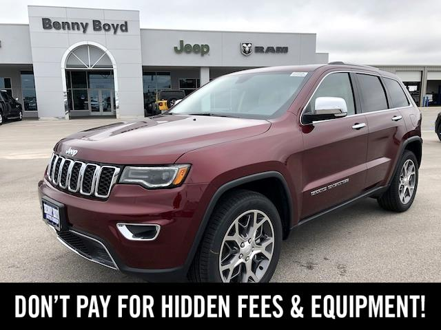 2020 Jeep Grand Cherokee LIMITED 4X2 Lockhart TX