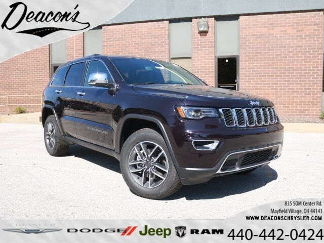 New 2020 Jeep Grand Cherokee LIMITED 4X4 in Mayfield ...