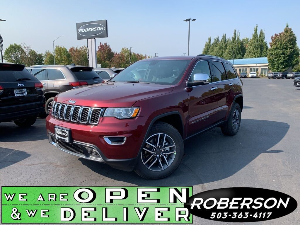 2020 Jeep Grand Cherokee LIMITED 4X4 Salem OR
