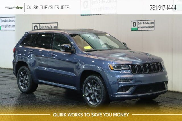New 2020 Jeep Grand Cherokee LIMITED X 4X4 in Braintree MA