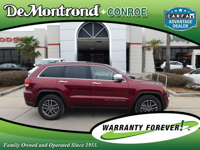 2020 Jeep Grand Cherokee Limited 4x2 Conroe TX