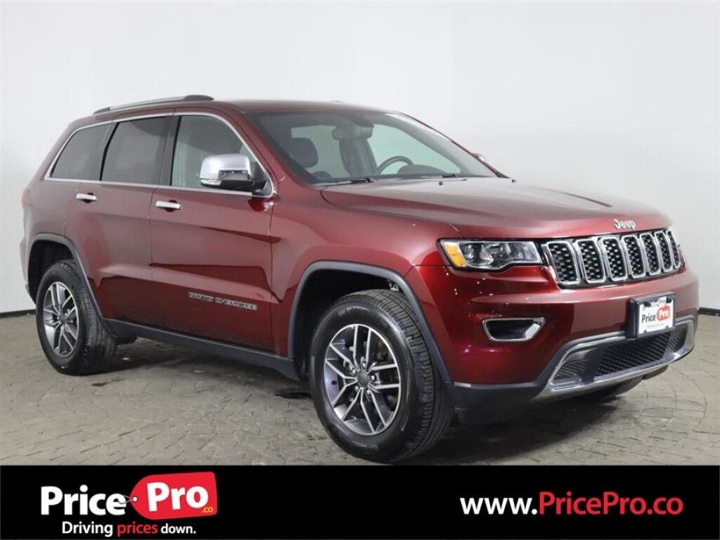 2020 Jeep Grand Cherokee Limited 4x4 Luxury Group w/Nav/Pano Roof Maumee OH