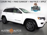 2020 Jeep Grand Cherokee Limited *LUXURY GROUP II, NAVIGATION, BLIND SPOT ALERT, BACKUP-CAMERA, PANORAMA MOONROOF, LEATHER, CLIMATE SEATS, POWER TAILGATE, ALPINE AUDIO, APPLE CARPLAY
