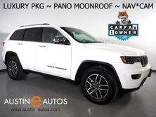 Jeep Grand Cherokee Limited *LUXURY GROUP II, NAVIGATION, BLIND SPOT ALERT, BACKUP-CAMERA, PANORAMA MOONROOF, LEATHER, CLIMATE SEATS, POWER TAILGATE, ALPINE AUDIO, APPLE CARPLAY 2020