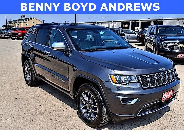 2020 Jeep Grand Cherokee Limited Andrews TX