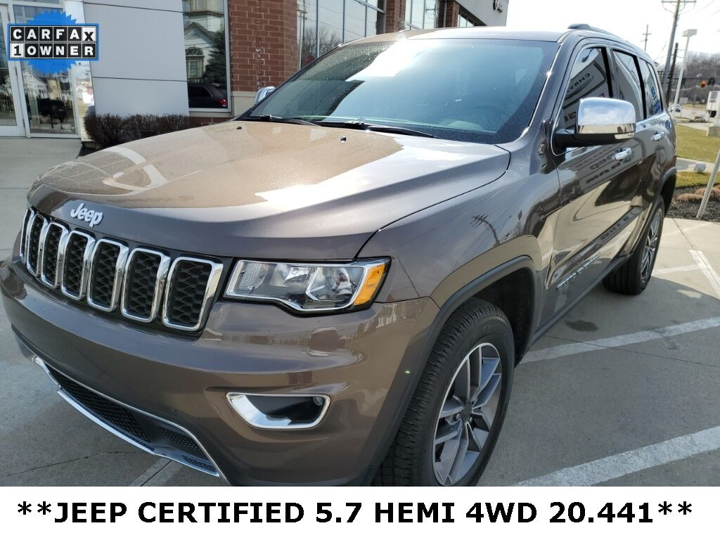 2020 Jeep Grand Cherokee Limited Mayfield Village OH