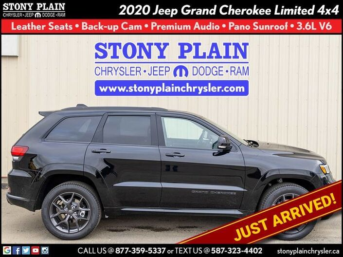 2020 Jeep Grand Cherokee Limited Stony Plain AB