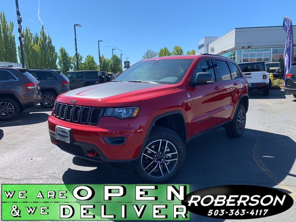 2020 Jeep Grand Cherokee TRAILHAWK 4X4 1C4RJFLG5LC385770