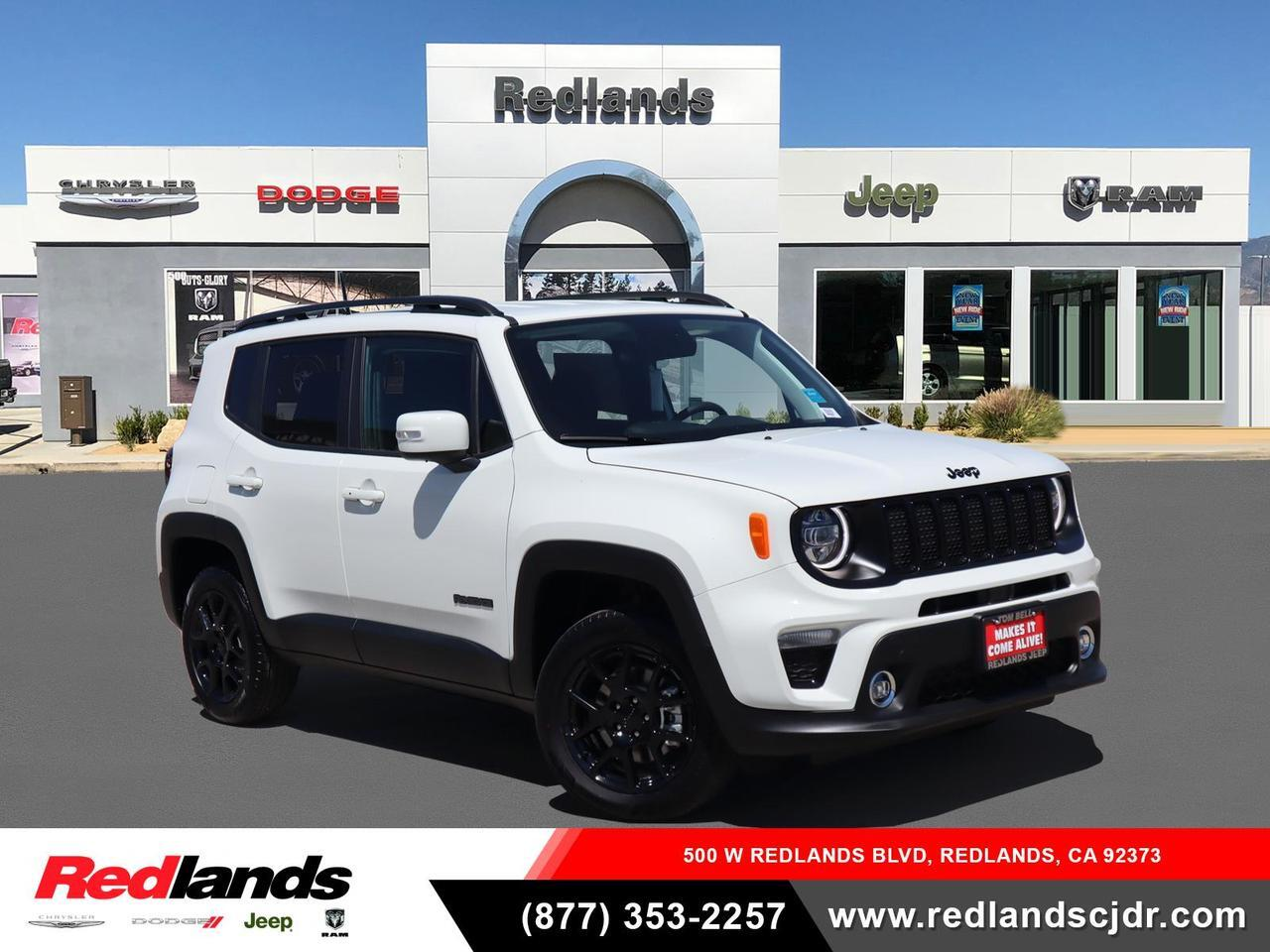 New 2020 Jeep Renegade Altitude 4x4 Alpine White Clear Coat Exterior Paint For Sale In Redlands Ca Zacnjbbb6lpl56154
