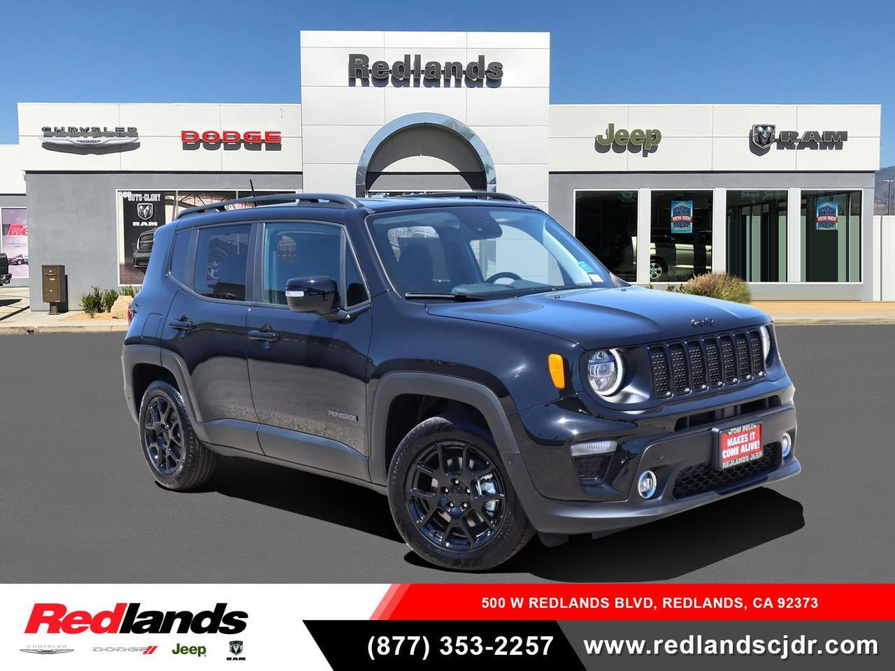 New 2020 Jeep Renegade Altitude Fwd Black Clear Coat Exterior Paint For Sale In Redlands Ca Zacnjabb0lpl55186