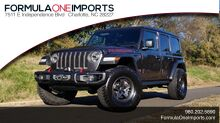 2020_Jeep_WRANGLER UNLIMITED_RUBICON 4X4 / CUSTOM LIFT WHEELS TIRES / POWER TOP_ Charlotte NC