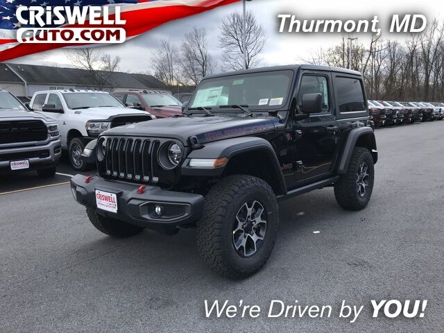 New 2020 Jeep Wrangler RUBICON 4X4 in Thurmont MD