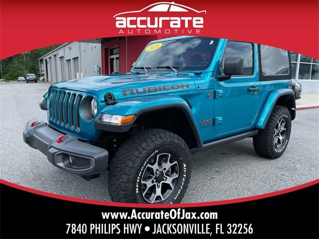 2020 Jeep Wrangler Rubicon Jacksonville FL