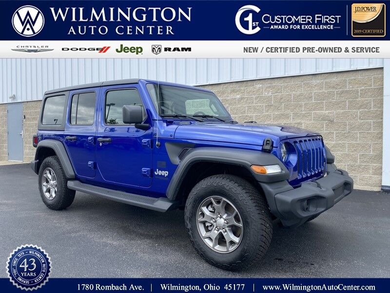 2020 Jeep Wrangler UNLIMITED FREEDOM 4X4 Wilmington OH