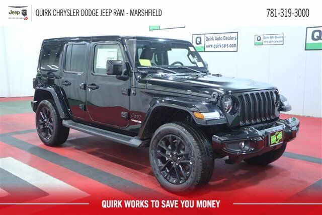 2020 Jeep Wrangler UNLIMITED HIGH ALTITUDE 4X4 Marshfield MA