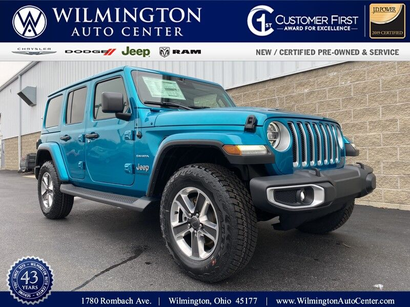 2020 Jeep Wrangler UNLIMITED NORTH EDITION 4X4 Wilmington OH
