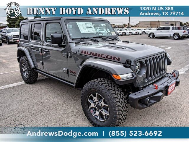 2020 Jeep Wrangler UNLIMITED RUBICON 4X4 Andrews TX