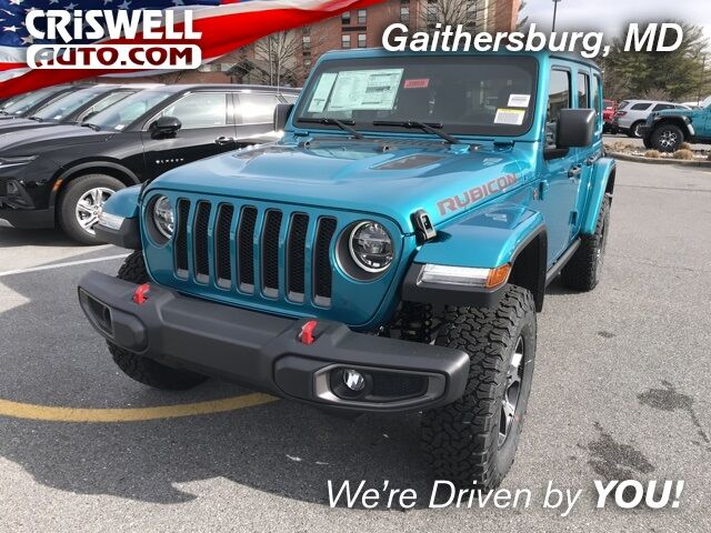 2020 Jeep Wrangler UNLIMITED RUBICON 4X4 Gaithersburg MD