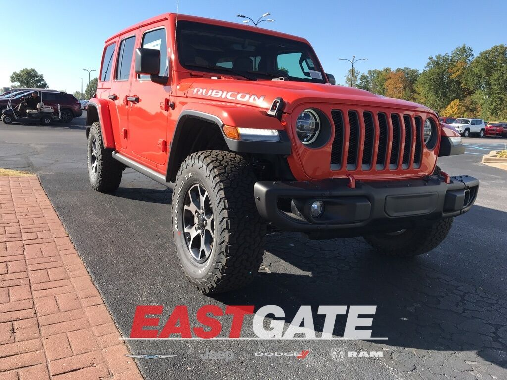 2020 Jeep Wrangler UNLIMITED RUBICON 4X4 Indianapolis IN