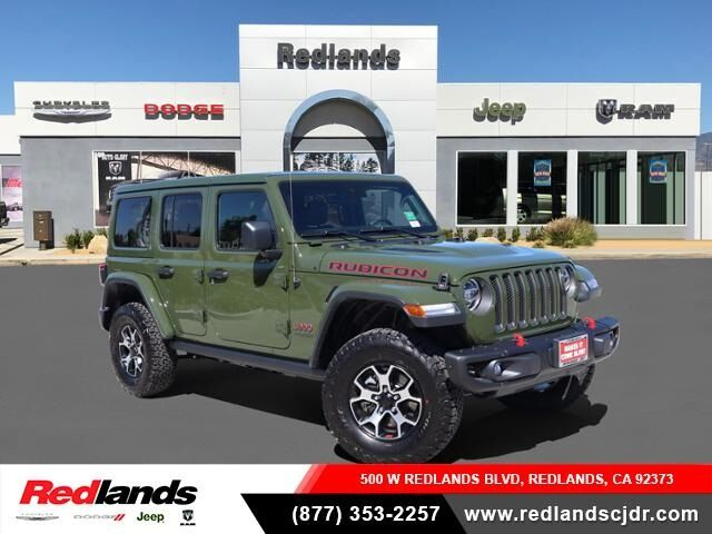 2020 Jeep Wrangler UNLIMITED RUBICON 4X4 Redlands CA