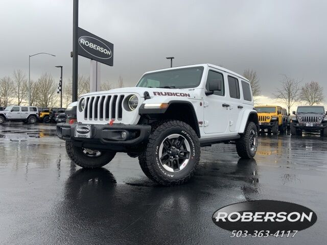 2020 Jeep Wrangler UNLIMITED RUBICON 4X4 Salem OR