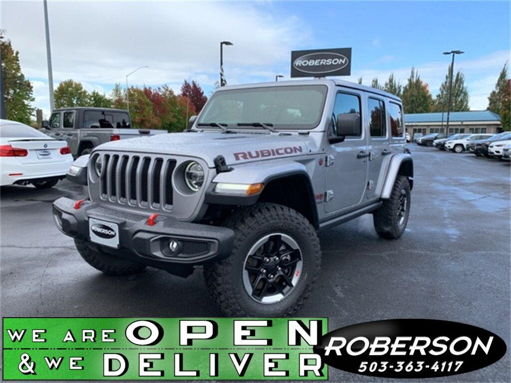 2020 Jeep Wrangler UNLIMITED RUBICON 4X4 1C4HJXFN1LW130463
