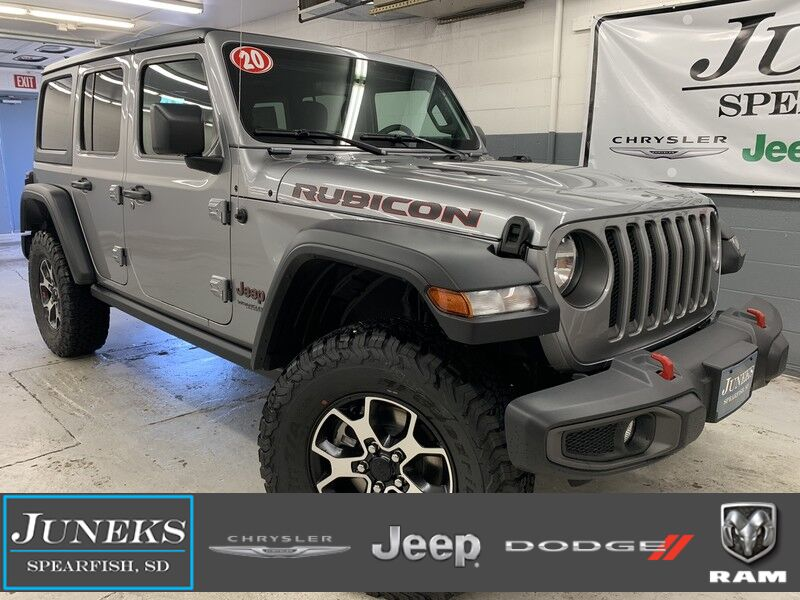 2020 Jeep Wrangler UNLIMITED RUBICON 4X4 Spearfish SD