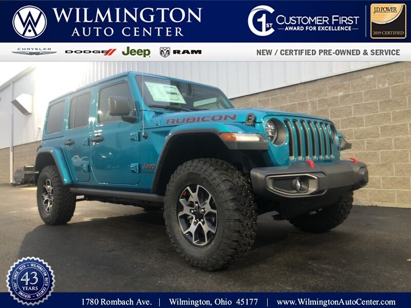 2020 Jeep Wrangler UNLIMITED RUBICON 4X4 Wilmington OH