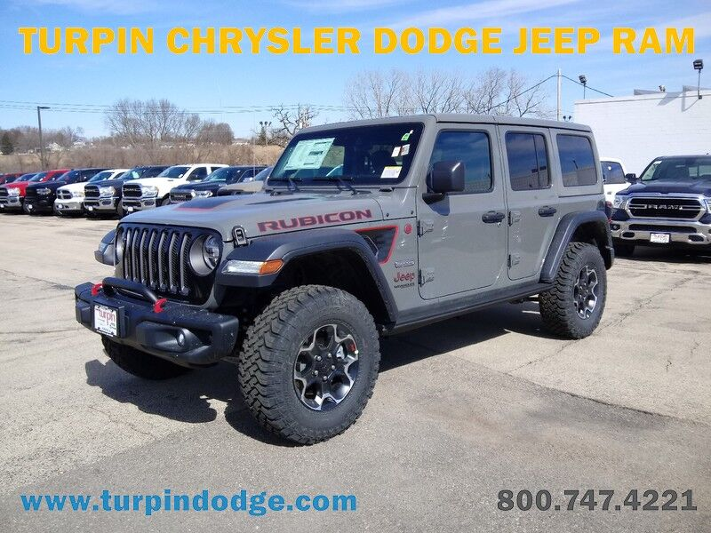 2020 Jeep Wrangler UNLIMITED RUBICON RECON 4X4 Dubuque IA