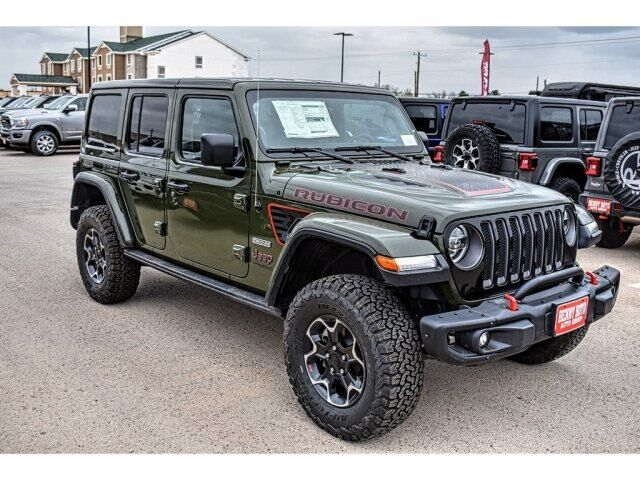 2020 Jeep Wrangler UNLIMITED RUBICON RECON 4X4 Andrews TX