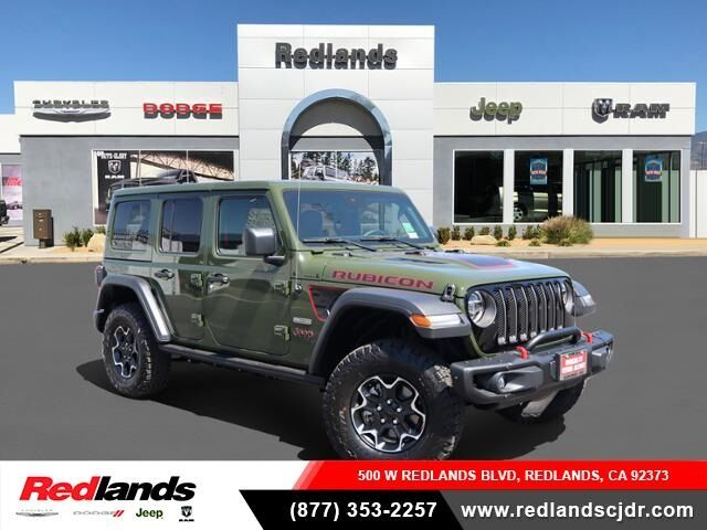 2020 Jeep Wrangler UNLIMITED RUBICON RECON 4X4 Redlands CA