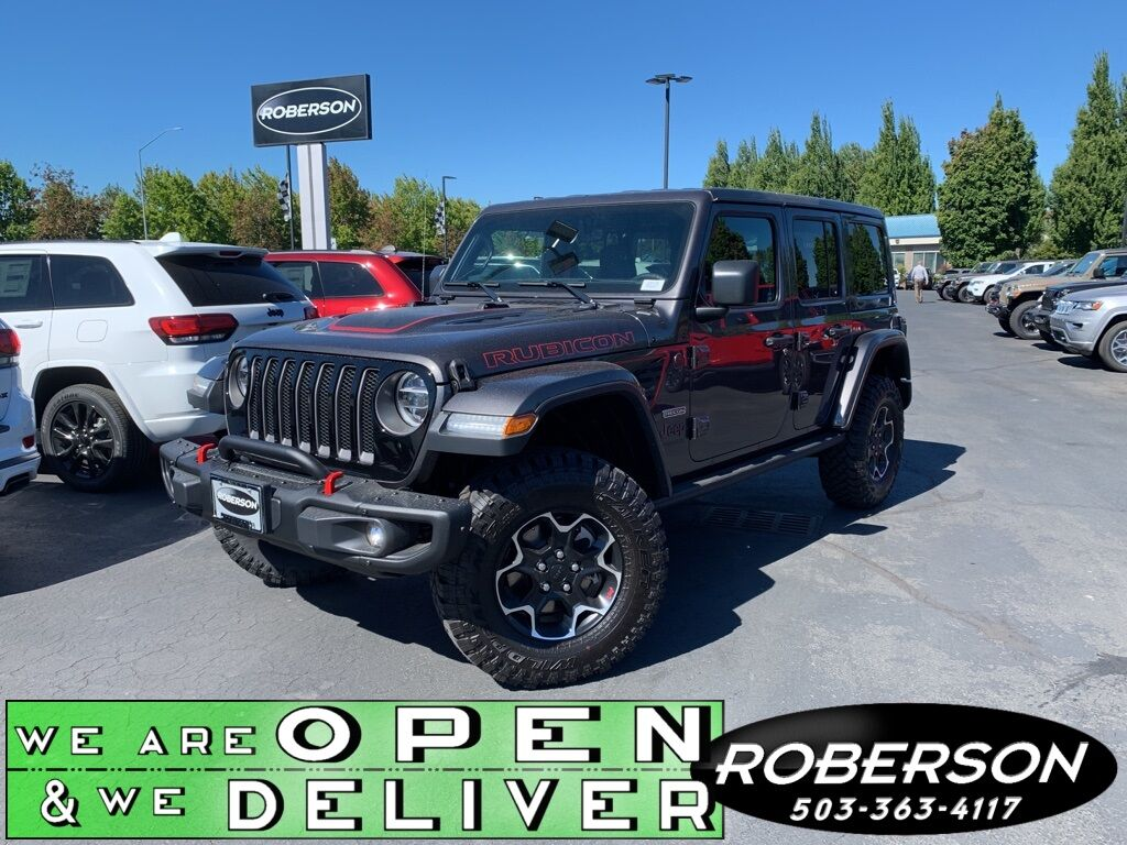 2020 Jeep Wrangler UNLIMITED RUBICON RECON 4X4 Salem OR