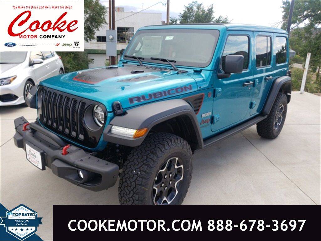 2020 Jeep Wrangler UNLIMITED RUBICON RECON 4X4 Trinidad CO
