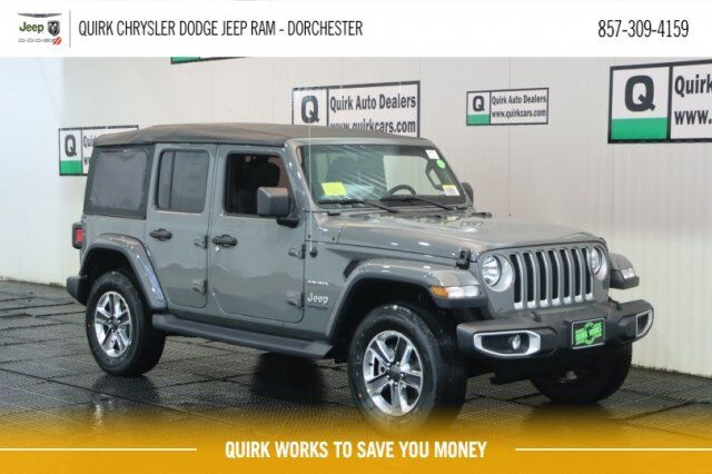 2020 Jeep Wrangler UNLIMITED SAHARA 4X4 Boston MA