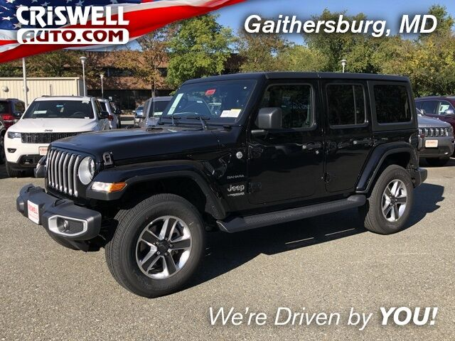 2020 Jeep Wrangler UNLIMITED SAHARA 4X4 Gaithersburg MD