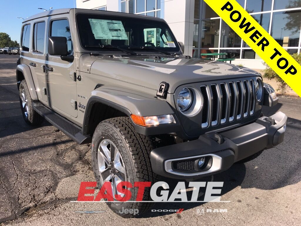 2020 Jeep Wrangler UNLIMITED SAHARA 4X4 Indianapolis IN