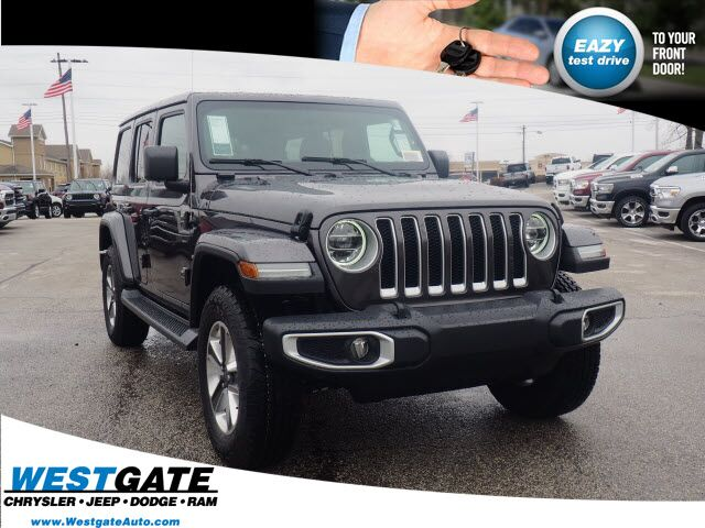 2020 Jeep Wrangler UNLIMITED SAHARA 4X4 Plainfield IN