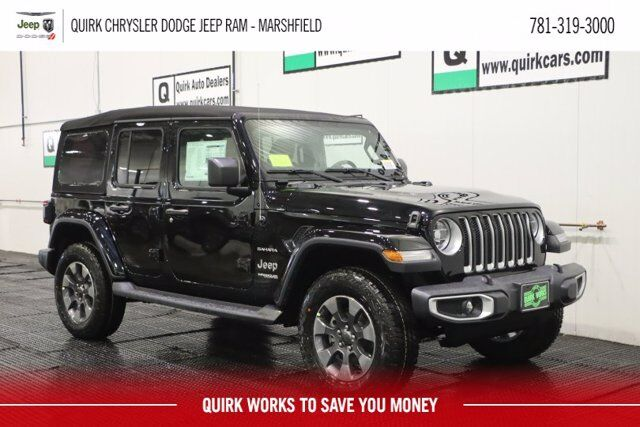 2020 Jeep Wrangler UNLIMITED SAHARA 4X4 Marshfield MA