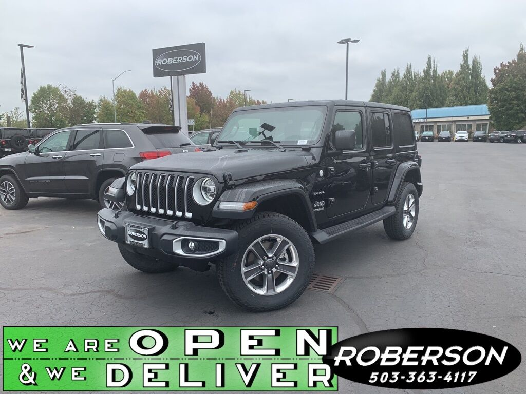 2020 Jeep Wrangler UNLIMITED SAHARA 4X4 Salem OR
