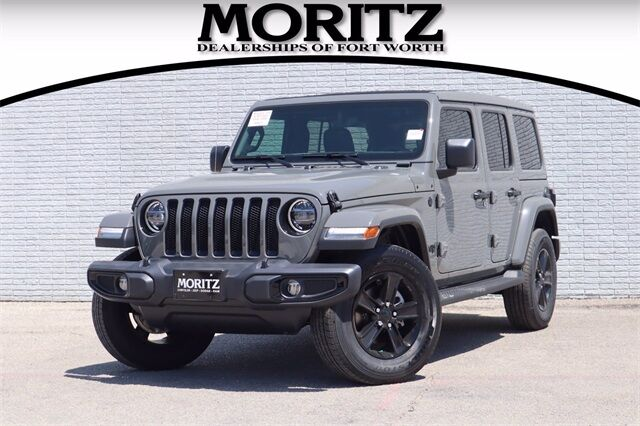 2020 Jeep Wrangler UNLIMITED SAHARA ALTITUDE 4X4 Fort Worth TX