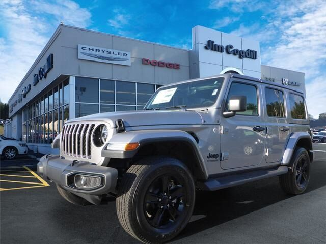2020 Jeep Wrangler UNLIMITED SAHARA ALTITUDE 4X4 Knoxville TN