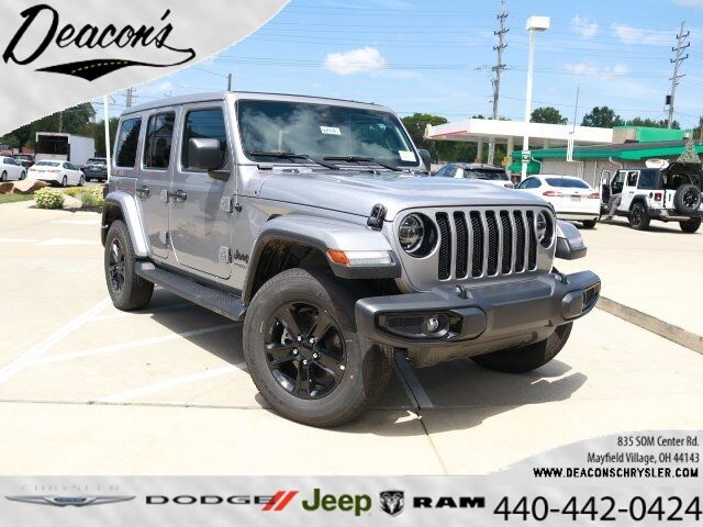 2020 Jeep Wrangler UNLIMITED SAHARA ALTITUDE 4X4 Mayfield Village OH